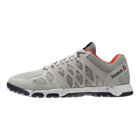REEBOK MEN\'S TRAINING REEBOK ONE TRAINER 2.0 Steel / Flat Grey / Graphite / Flux Orange / White