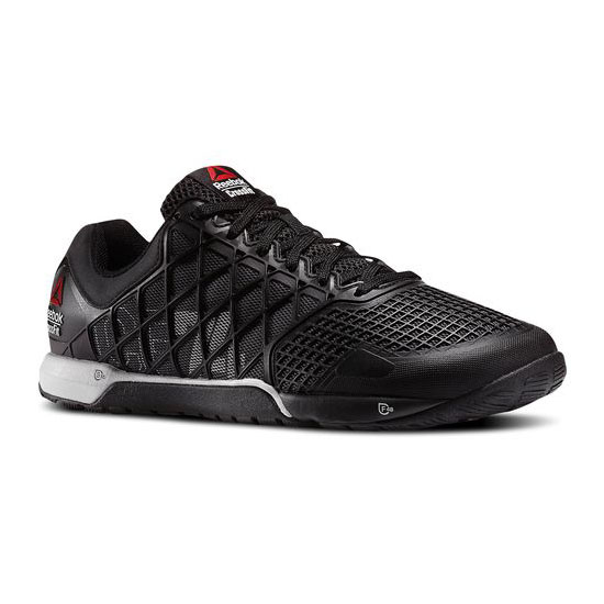 REEBOK MEN'S CROSSFIT REEBOK CROSSFIT NANO 4.0 Black / Gravel / Steel