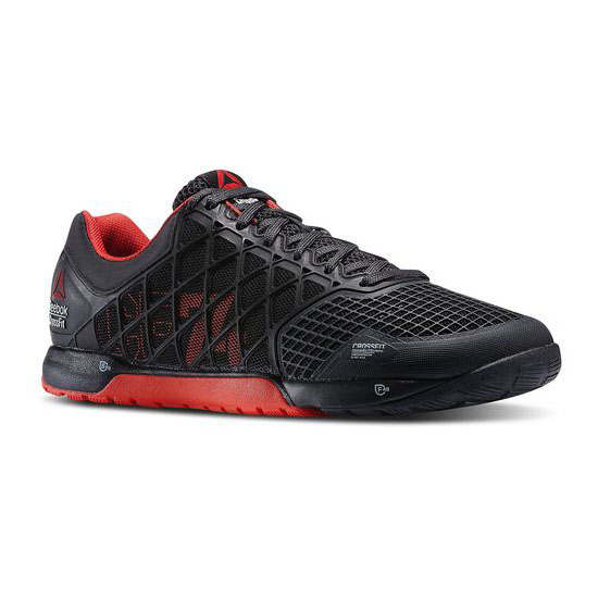 REEBOK MEN'S CROSSFIT REEBOK CROSSFIT NANO 4.0 Black / Red / Gravel