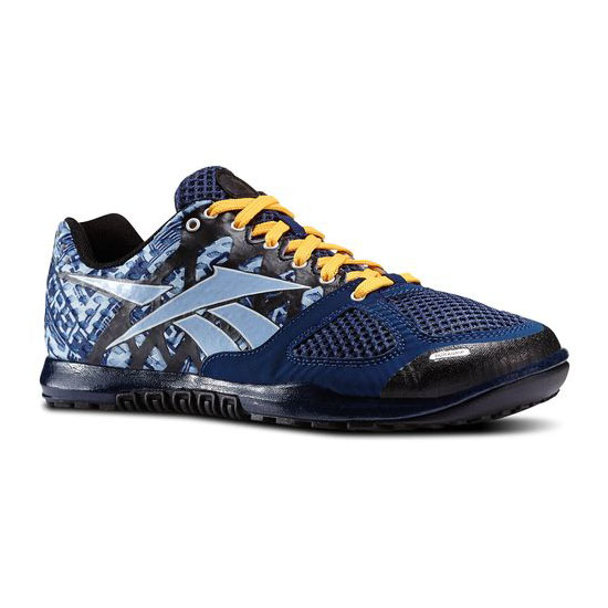 REEBOK MEN\'S CROSSFIT REEBOK CROSSFIT NANO 2.0 Batik Blue / Denim Glow / Black / White / Solar