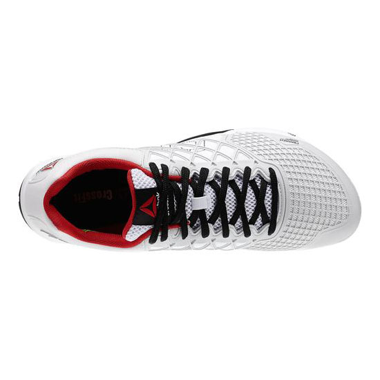 REEBOK MEN\'S CROSSFIT REEBOK CROSSFIT NANO 4.0 Porcelain / Black / White / Excellent Red