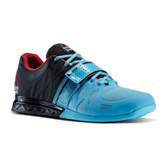 REEBOK MEN'S CROSSFIT REEBOK CROSSFIT LIFTER 2.0 Neon Blue / Black / Red Rush