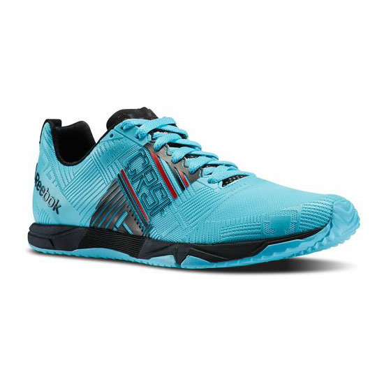 REEBOK MEN'S CROSSFIT REEBOK CROSSFIT SPRINT 2.0  Neon Blue / Blue Pool / Black / Red Rush