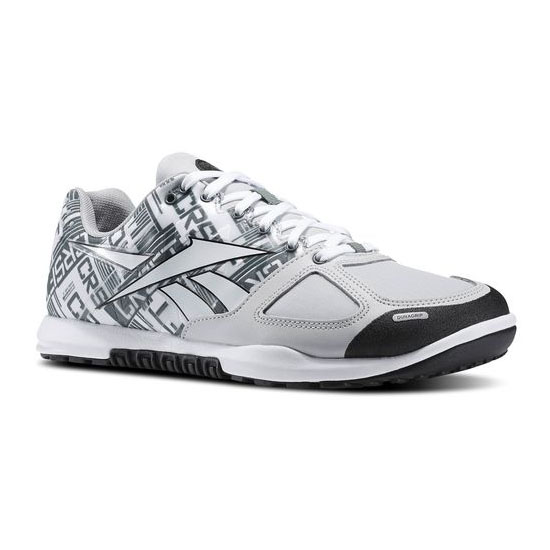 REEBOK MEN'S CROSSFIT REEBOK CROSSFIT NANO 2.0  Steel / White / Silvery Green / Black