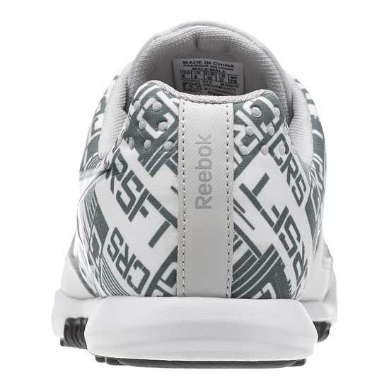 REEBOK MEN\'S CROSSFIT REEBOK CROSSFIT NANO 2.0  Steel / White / Silvery Green / Black