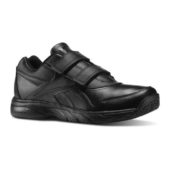 REEBOK MEN'S WALKING WORK N CUSHION KC Black