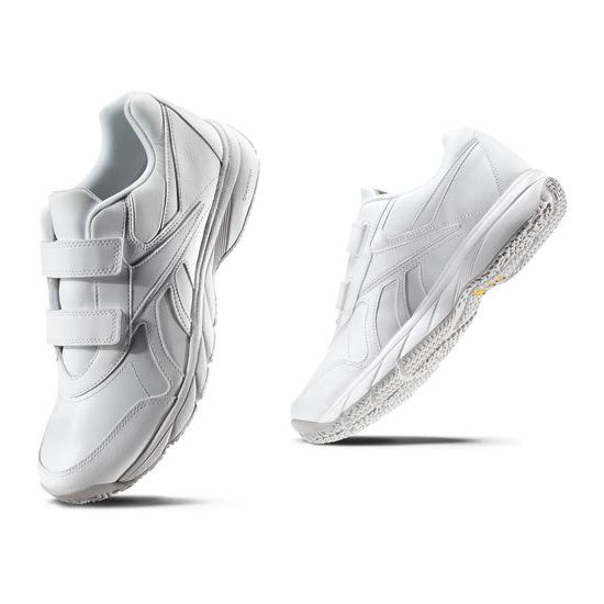 REEBOK MEN'S WALKING WORK N CUSHION KC  White