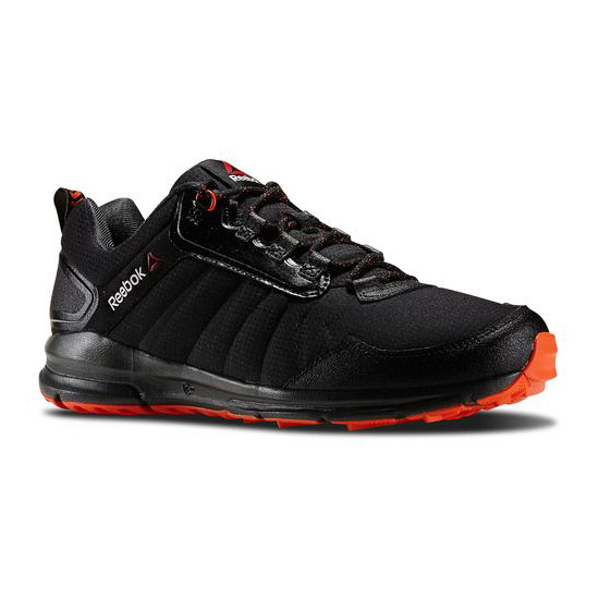 REEBOK MEN'S WALKING WARM & TOUGH Black / Gravel / Flux Orange