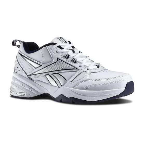 REEBOK MEN'S WALKING REEBOK ROYAL TRAINER MT White / Reebok Navy / Pure Silver