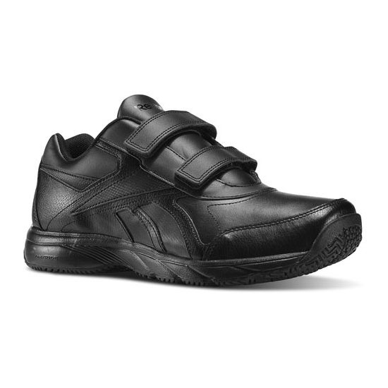 REEBOK MEN'S WALKING WORK N CUSHION KC - WIDE 4E Black