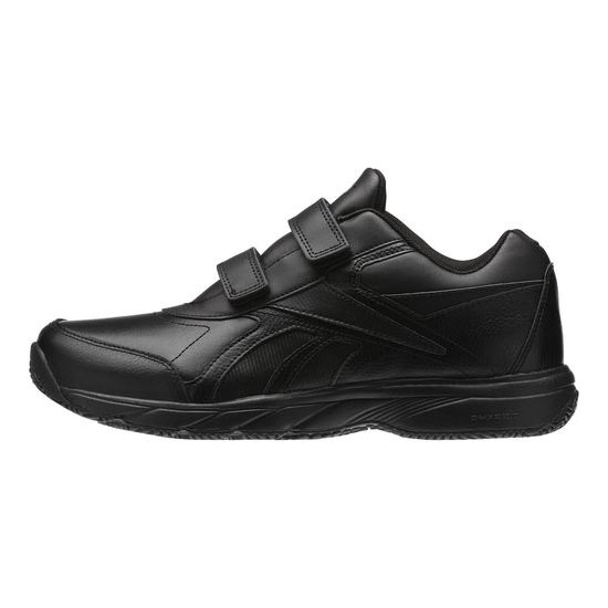 REEBOK MEN\'S WALKING WORK N CUSHION KC - WIDE 4E Black