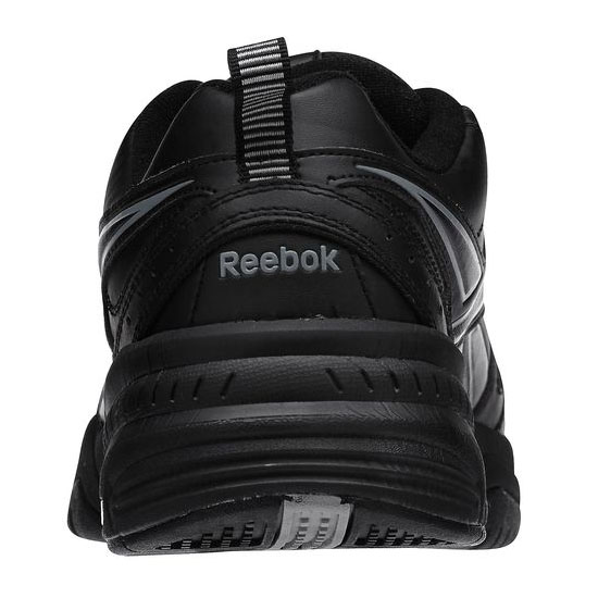 REEBOK MEN\'S WALKING REEBOK ROYAL TRAINER 4E Black / Flat Grey