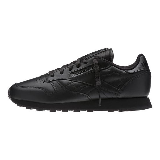 REEBOK WOMEN\'S CLASSICS CLASSIC LEATHER R13 Black / Black / Black
