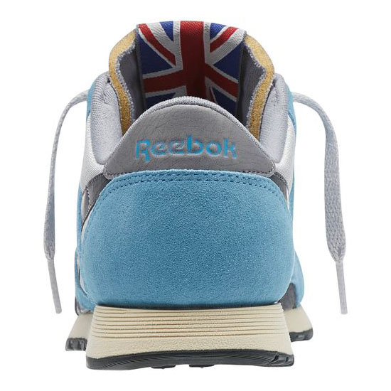 REEBOK WOMEN\'S CLASSICS CLASSIC NYLON 80 VINTAGE Tough Blue / Steel / Gravel / Foggy Grey / Paperwhite