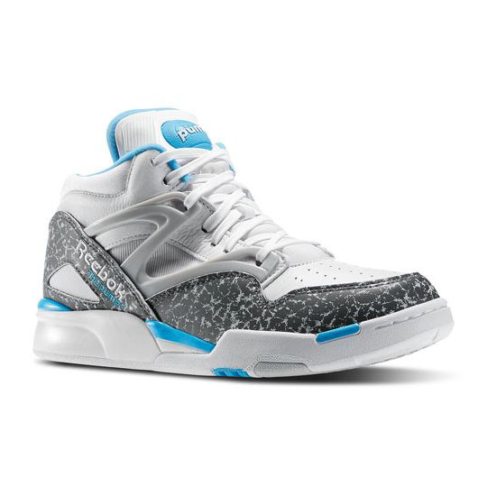REEBOK CLASSICS PUMP OMNI LITE White / Rivet Grey / California Blue
