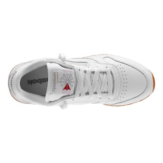 REEBOK WOMEN\'S CLASSICS CLASSIC LEATHER White / Gum