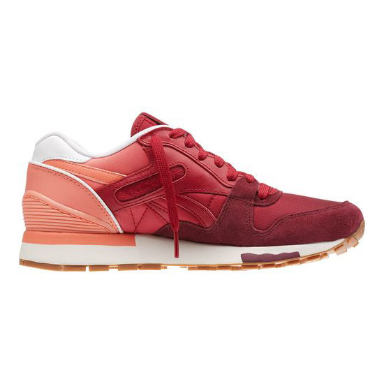 REEBOK WOMEN\'S CLASSICS GL 6000 COLOR FADE Coral / Bing Cherry / Rustic Wine / White / Chalk