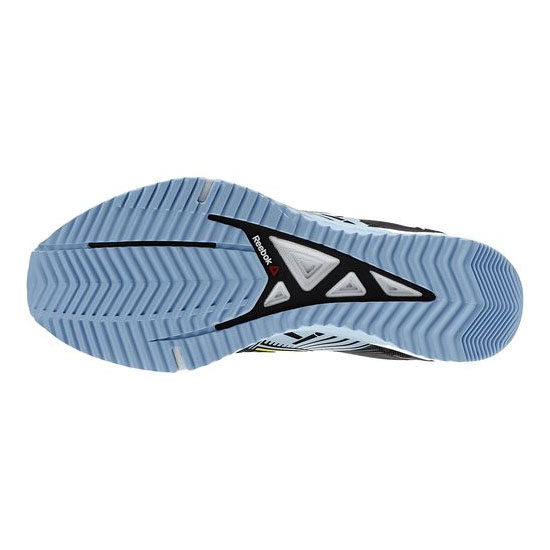 REEBOK WOMEN\'S CROSSFIT REEBOK CROSSFIT SPRINT 2.0  Black / Denim Glow / Stinger Yellow / White