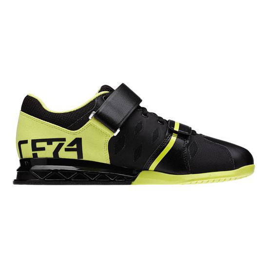 REEBOK WOMEN\'S CROSSFIT REEBOK CROSSFIT LIFTER PLUS 2.0 Black / High Vis Green
