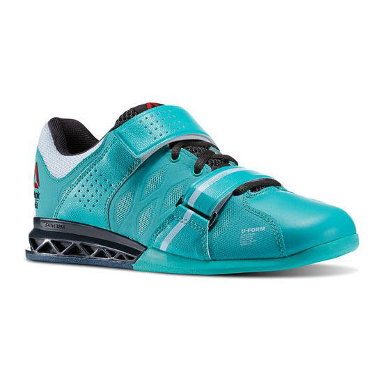 REEBOK WOMEN'S CROSSFIT REEBOK CROSSFIT LIFTER PLUS 2.0  Timeless Teal / Gravel / Reflection Blue