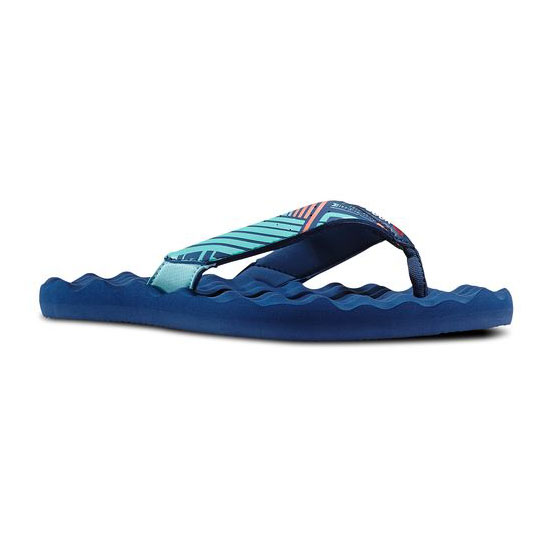 REEBOK WOMEN'S SWIM REEBOK CROSSFIT ADVANCE FLIP Crystal Blue / Batik Blue / Coral