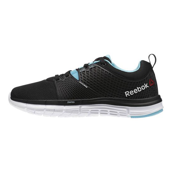 REEBOK WOMEN\'S RUNNING REEBOK ZQUICK DASH Black / Neon Blue / White