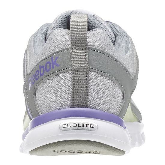 REEBOK WOMEN\'S RUNNING SUBLITE ESCAPE 2.0 Steel / Flat Grey / Lush Orchid / Citrus Glow