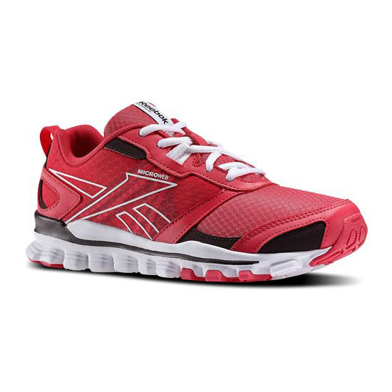 REEBOK WOMEN'S RUNNING HEXAFFECT RUN Blazing Pink / Urban Plum / White
