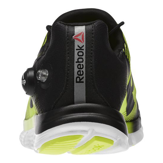 REEBOK WOMEN\'S RUNNING REEBOK ZPUMP FUSION Black / Solar Yellow / White