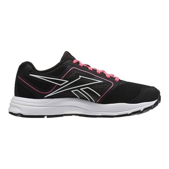 REEBOK WOMEN\'S RUNNING ZONE CRUSHRUN Black / Gravel / Solar Pink / White
