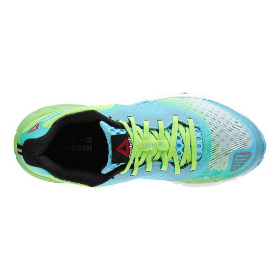 REEBOK WOMEN\'S RUNNING REEBOK ONE GUIDE 2.0 Neon Blue / Solar Green / White / Black