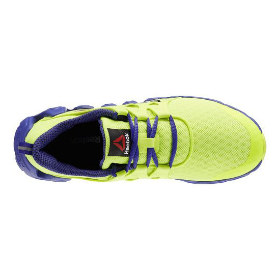 REEBOK WOMEN\'S RUNNING ZIGTECH BIG & FAST Solar Yellow / Ultima Purple