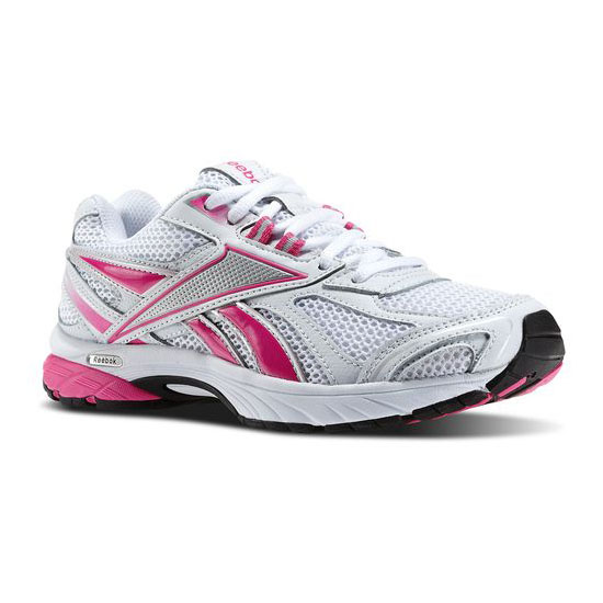 REEBOK WOMEN'S RUNNING PHEEHAN RUN - PINK RIBBON White / Dynamic Pink / Steel
