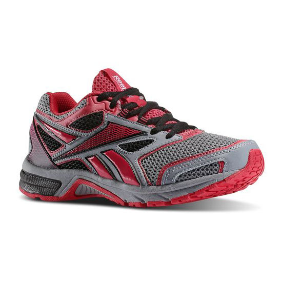 REEBOK WOMEN'S RUNNING SOUTHRANGE RUN L Flat Grey / Magenta Pop / Black