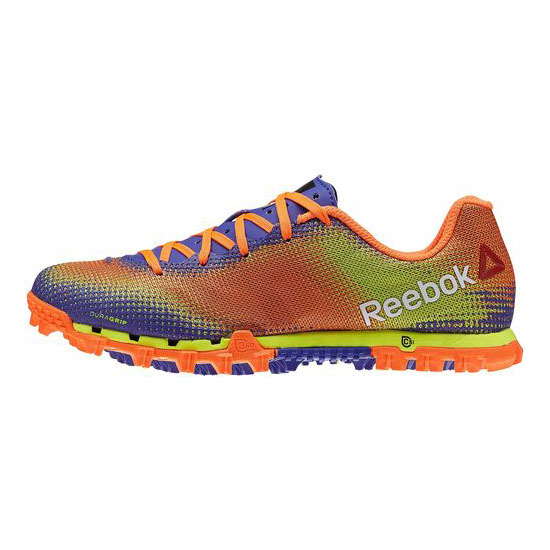 REEBOK WOMEN\'S RUNNING ALL TERRAIN SPRINT Solar Yellow / Orange / Ultima Purple