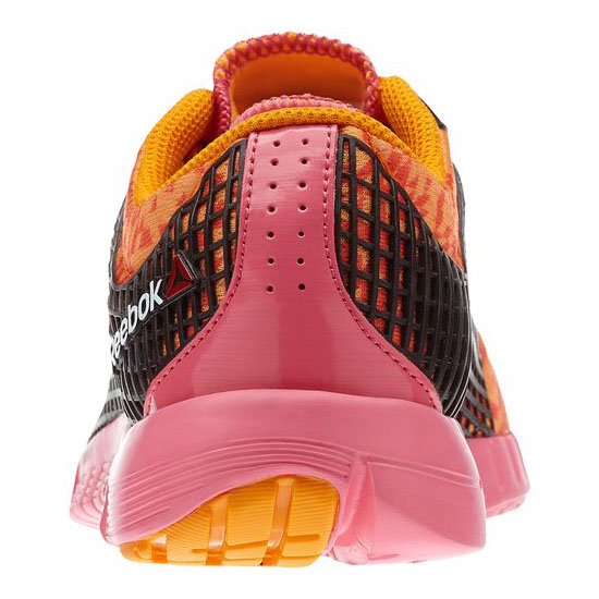 REEBOK WOMEN\'S RUNNING REEBOK ZQUICK GEO Hazard Orange / Flux Orange / Dark Brown / Happy Pink