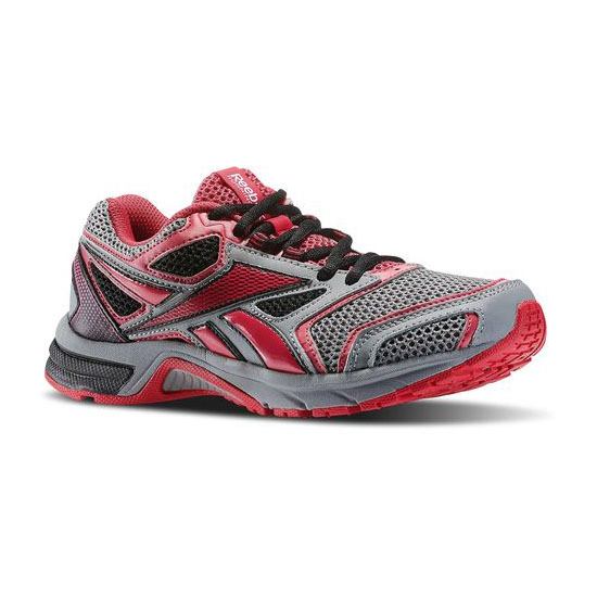 REEBOK WOMEN'S RUNNING SOUTHRANGE RUN L WIDE D Flat Grey / Magenta Pop / Black