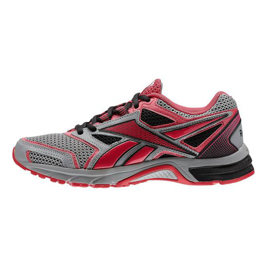 REEBOK WOMEN\'S RUNNING SOUTHRANGE RUN L WIDE D  Flat Grey / Magenta Pop / Black
