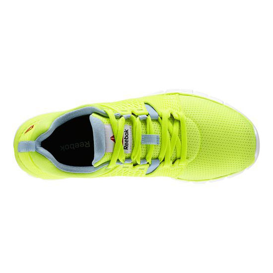 REEBOK WOMEN\'S RUNNING REEBOK ZQUICK DASH Solar Yellow / Denim Glow / White