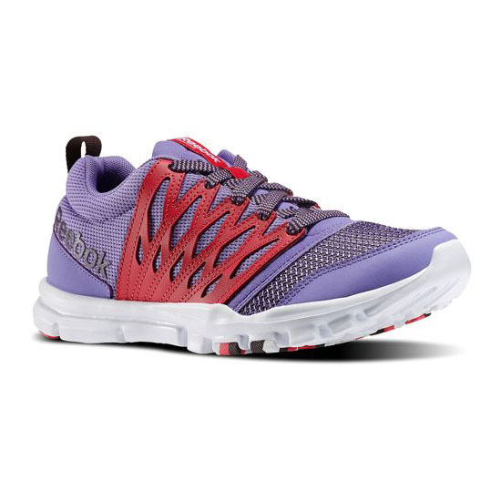 REEBOK WOMEN'S TRAINING YOURFLEX TRAINETTE RS 5.0L Lush Orchid / Blazing Pink / Urban Plum / White