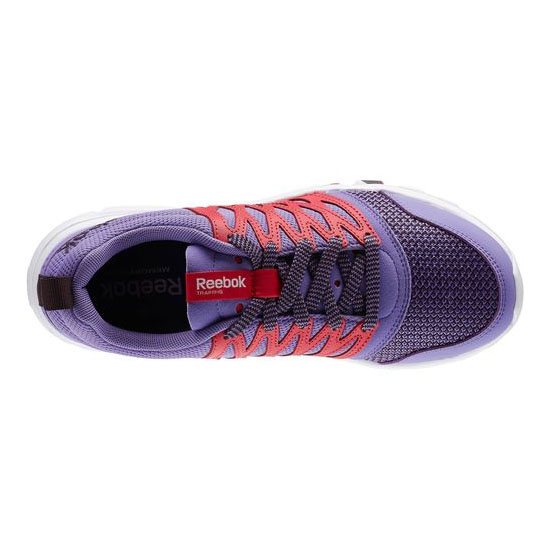 REEBOK WOMEN\'S TRAINING YOURFLEX TRAINETTE RS 5.0L Lush Orchid / Blazing Pink / Urban Plum / White