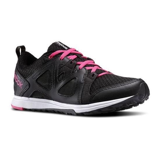 REEBOK WOMEN'S TRAINING TRAIN FAST XT Black / Pink / White