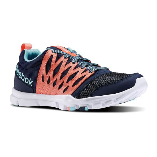 REEBOK WOMEN'S TRAINING YOURFLEX TRAINETTE RS 5.0L aux Indigo / Coral / Crystal Blue / White