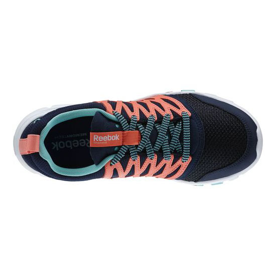 REEBOK WOMEN\'S TRAINING YOURFLEX TRAINETTE RS 5.0L aux Indigo / Coral / Crystal Blue / White