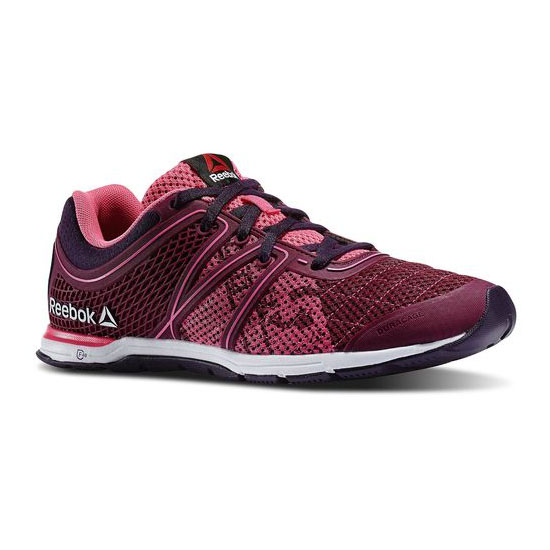REEBOK WOMEN'S TRAINING REEBOK ONE SPEED BREESE TR Rebel Berry / Solar Pink / Portrait Purple / White