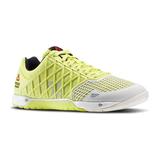 REEBOK WOMEN'S CROSSFIT REEBOK CROSSFIT NANO 4.0 High Vis Green / Black / Chalk