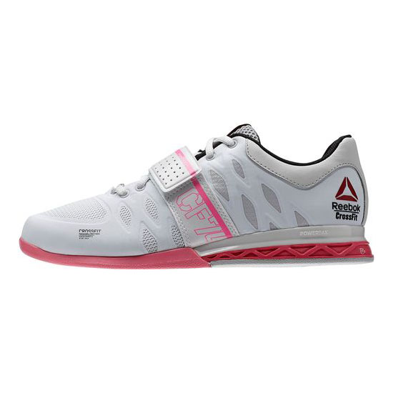 REEBOK WOMEN\'S CROSSFIT REEBOK CROSSFIT LIFTER 2.0 Porcelain / Steel / Electro Pink / Black / Happy