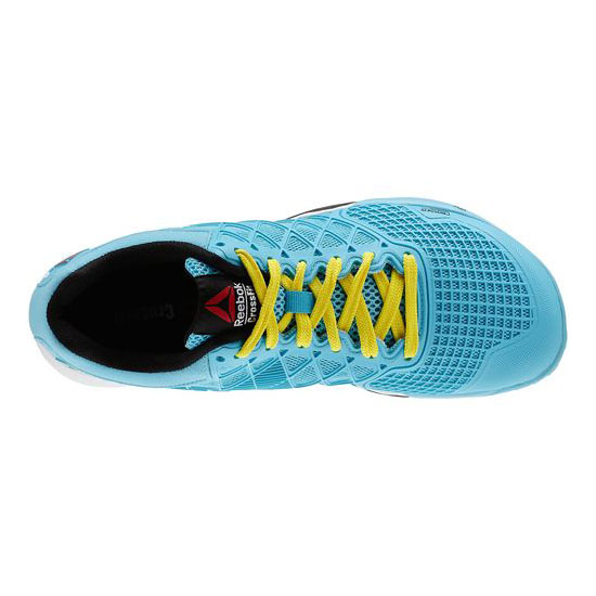 REEBOK WOMEN\'S CROSSFIT REEBOK CROSSFIT NANO 4.0 Neon Blue / Stinger Yellow / White / Black