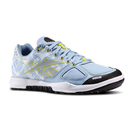 REEBOK WOMEN\'S CROSSFIT REEBOK CROSSFIT NANO 2.0 Denim Glow / Stinger Yellow / White / Black
