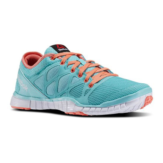 REEBOK WOMEN\'S TRAINING REEBOK ZQUICK TR 3.0 Crystal Blue / Coral / White